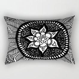 Mandala Doily Rectangular Pillow