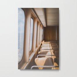 Ferry Ride Metal Print