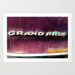 Grand Prix-American Muscle Classic Car Photography Art Print