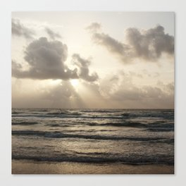 South Padre Island Morning Canvas Print