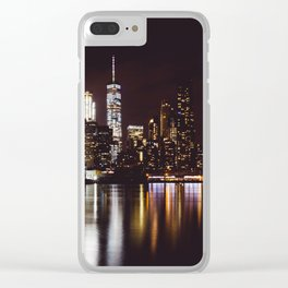 The Big Apple Clear iPhone Case