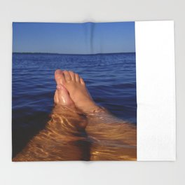 Floating  Throw Blanket