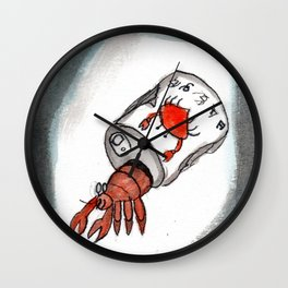 Crab Juice Wall Clock