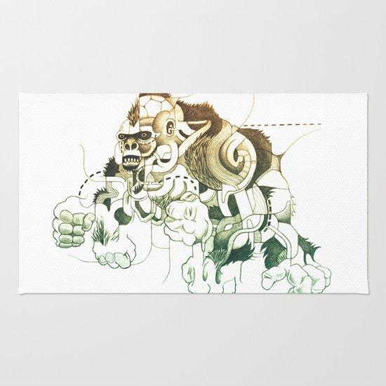 Gorilla gorilla gorilla! Rug