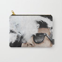 JFK Cigar and Sunglasses Cool President Photo Photo paper poster Color Carry-All Pouch