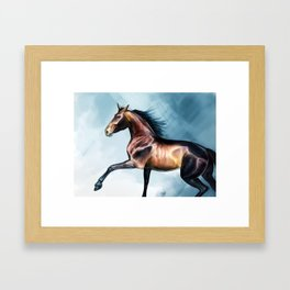 andalusian Framed Art Print