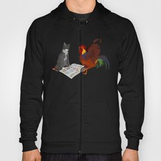 Cats, Comics, Cocks Hoody