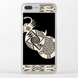 Mimbres Scorpion Clear iPhone Case