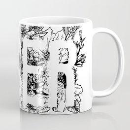 """""""Hoser"""" Floral Coffee Mug"""