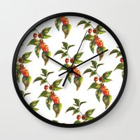 lantern Wall Clocks featuring Lantern by Chloe Frederik