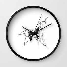 Horse And Unicorn Wall Clock
