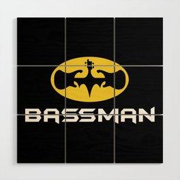 Bassman Wood Wall Art