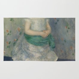 Portrait of Jeanne Durand-Ruel Rug