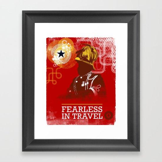 FEARLESS: In Travel Framed Art Print