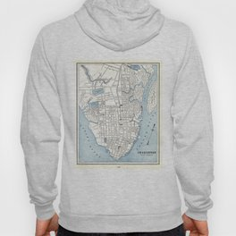 Vintage Map of Charleston South Carolina (1898) Hoody