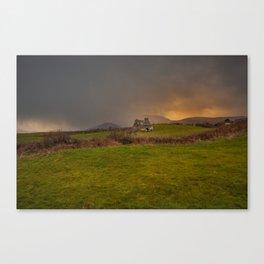West Cork Caha Mountains Ireland Canvas Print
