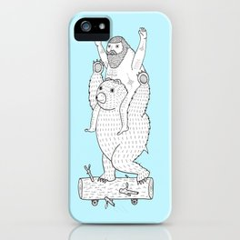 On a cause which contributed to the expulsion of the Lithuanian bear iPhone Case