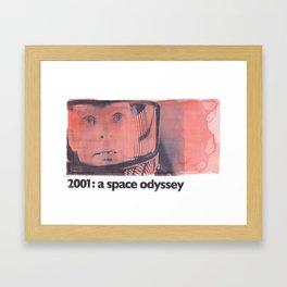2001: a space odyssey Framed Art Print
