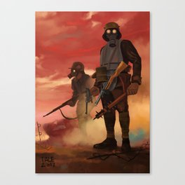 WWI Era Stormtroopers Canvas Print