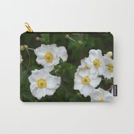 White poppies in spring Carry-All Pouch