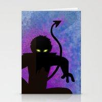nightcrawler Stationery Cards featuring Nightcrawler by Sprite