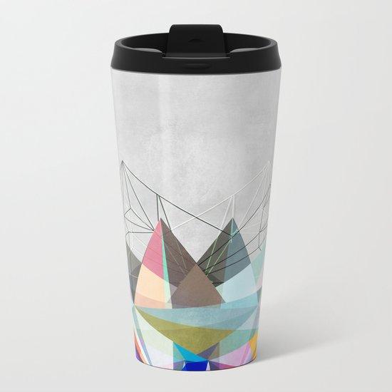 Colorflash 3 Metal Travel Mug