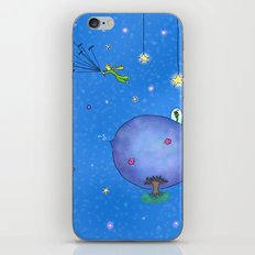 Fly Away Little Prince iPhone & iPod Skin