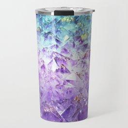 Alexandrite crystal rough cut Travel Mug
