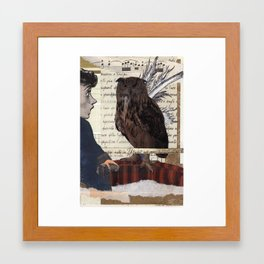 Whoo, Hoooooo! Framed Art Print