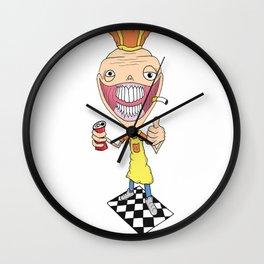 Creepy Server Wall Clock