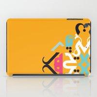 arabic iPad Cases featuring Orange Arabic by Farah Saheb