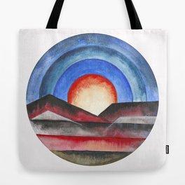 Geometric landscapes 01 Tote Bag