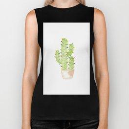 cactus christmas tree Biker Tank