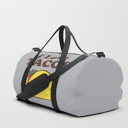 I Love Tacos Duffle Bag