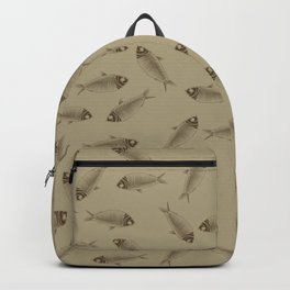 Fossil Fish Green River Formation Backpack