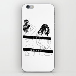 get naked iPhone Skin