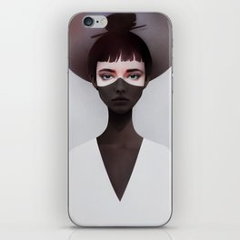 The Restless Sun Will Rise iPhone Skin