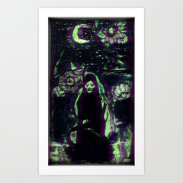 Witch haus Art Print