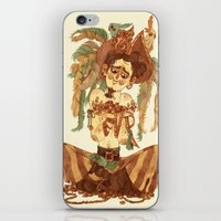 pirate iPhone & iPod Skins featuring Pirate by Fabio Mancini