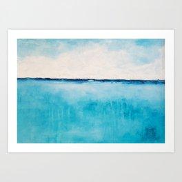 Blue Calm Art Print