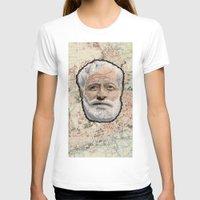 hemingway T-shirts featuring Ernest Hemingway by steam