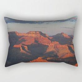 Grand Canyon Sunset Colors Rectangular Pillow