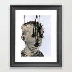 Emission Framed Art Print