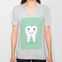 Cute Teeth Unisex V-Neck
