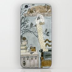 I saw typewriter in a dream iPhone & iPod Skin