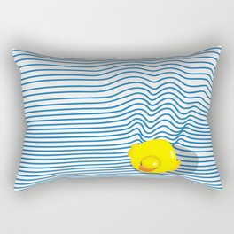 Rubber Ducky Rectangular Pillow