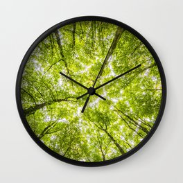 Tree Forest Sky Wall Clock