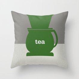 Tea/Coffee Throw Pillow