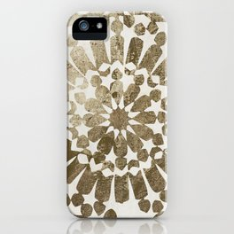 Moroccan Gold I iPhone Case