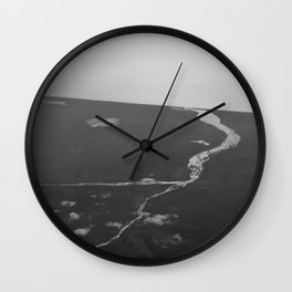 Towards the ocean Wall Clock